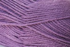 Free Close Up Dusty Purple Yarn Stock Images - 5318424