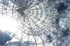 Free Skylight-Sculpture Royalty Free Stock Photography - 5318517