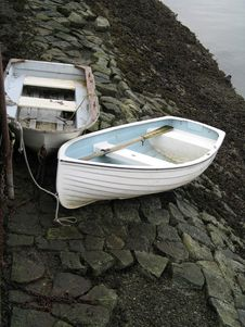 Free Two Small Boats Stock Photography - 5319182