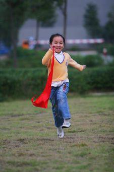 Free Running  Girl Stock Photo - 5319650
