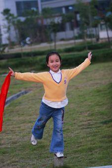 Free Happy  Girl Royalty Free Stock Photo - 5319805