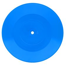 Free Blue Vintage Vinyl Record Stock Photos - 5319833