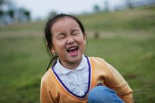 Free Laughing  Girl Royalty Free Stock Photography - 5319837