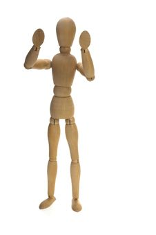 Free Wood Figurine Stock Photography - 5319922