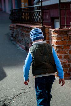 Free Boy On The Street Stock Photos - 53138783
