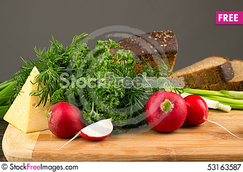 Free Vegetarian Food Royalty Free Stock Photography - 53163587