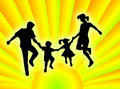 Free Family In The Sun Stock Image - 5320641