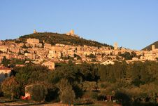 Assisi Landscape Stock Photos