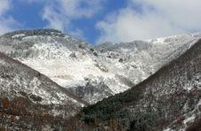 Abruzzo Mountains Stock Photography