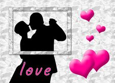 Free Love Kiss Royalty Free Stock Image - 5320636