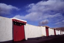 Free Tibetan Houses Stock Photography - 5321042