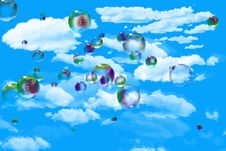 Free Bubbles Royalty Free Stock Photos - 5321418