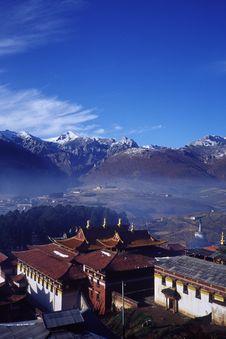 Free Tibetan Architecture Royalty Free Stock Photos - 5321648