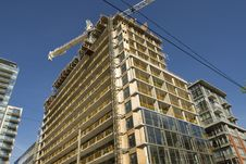 Construction Of High Rise Royalty Free Stock Photos