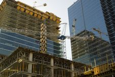 Free Construction Of High Rise Stock Images - 5322214