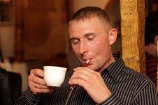 Free Coffee And Smoking Royalty Free Stock Image - 5322916