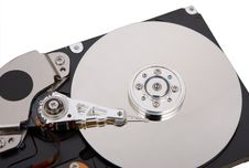 Free The Hard Disc Isolated On White Background Stock Images - 5323794