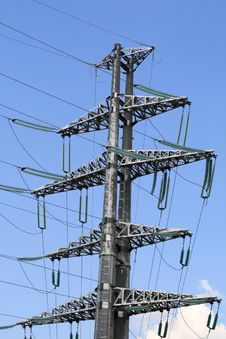 Free Power Transmission Line Royalty Free Stock Images - 5324479