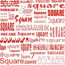 Square Of Squares Stock Images