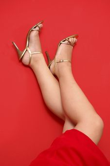 Free High-heel Shoes Royalty Free Stock Photos - 5324978