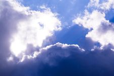 Free Blue Sky With Clouds Royalty Free Stock Image - 5325036