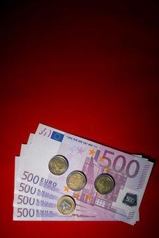 Free Money On Red Stock Images - 5325294