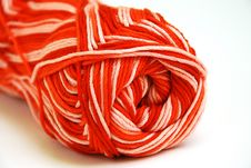Colorful Yarn Ball Stock Photo