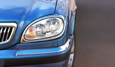 Free Headlight Of The Car Royalty Free Stock Photography - 5325547