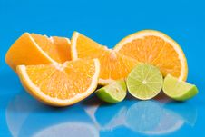 Free Orange And Lemons Royalty Free Stock Images - 5326439