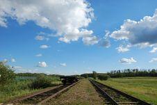 Free Railway Under Sky Stock Photo - 5326760