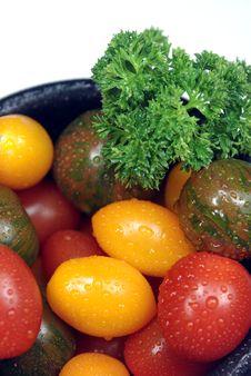Free Assorted Cherry Tomatoes Stock Photo - 5327000