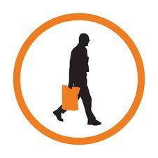 Free Shopper With Bag Stock Photos - 5327003