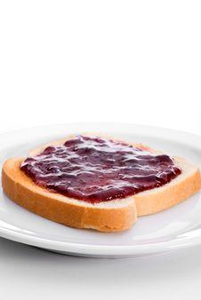 Free Tasty Jelly On Toast Royalty Free Stock Photography - 5327007