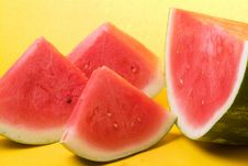 Free Watermelon Slices Stock Photography - 5327202