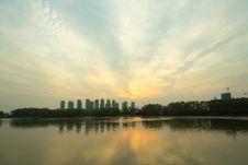 Free The Yangtze River Sunset Royalty Free Stock Photos - 53259288
