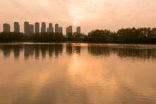 Free The Yangtze River Sunset Stock Photo - 53259350