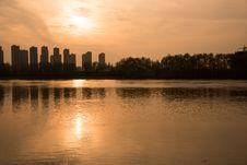 Free The Yangtze River Sunset Stock Photos - 53259503