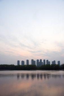 Free The Yangtze River Sunset Royalty Free Stock Photos - 53259598