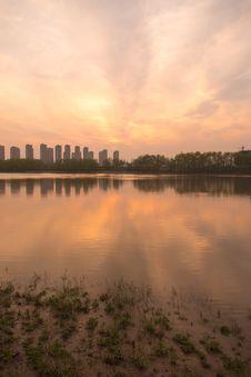 Free The Yangtze River Sunset Royalty Free Stock Image - 53259966