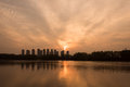 Free The Yangtze River Sunset Stock Photo - 53260030