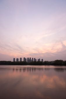 Free The Yangtze River Sunset Stock Photography - 53260052