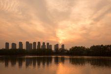 Free The Yangtze River Sunset Stock Photo - 53260140