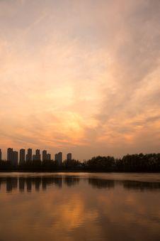 Free The Yangtze River Sunset Stock Photo - 53260290