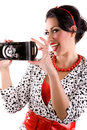 Free Woman With Retro Camera Royalty Free Stock Photography - 5336067