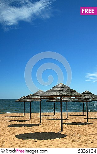 Free Beach Shade 2 Stock Images - 5336134