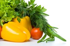Free Fresh Vegetables Royalty Free Stock Photos - 5330408