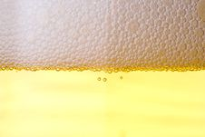 Free Background From Fresh Foamy Beer. Royalty Free Stock Photography - 5330537
