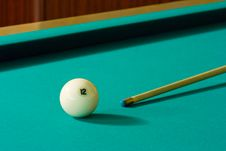 Free Ball And Cue Stock Images - 5331064