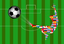 Free European Football Stock Photography - 5331842