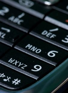 Free Keypad Stock Photography - 5331872